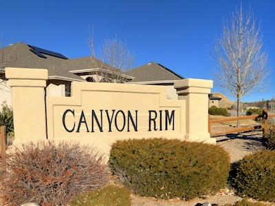 Canyon Rim Subdivision