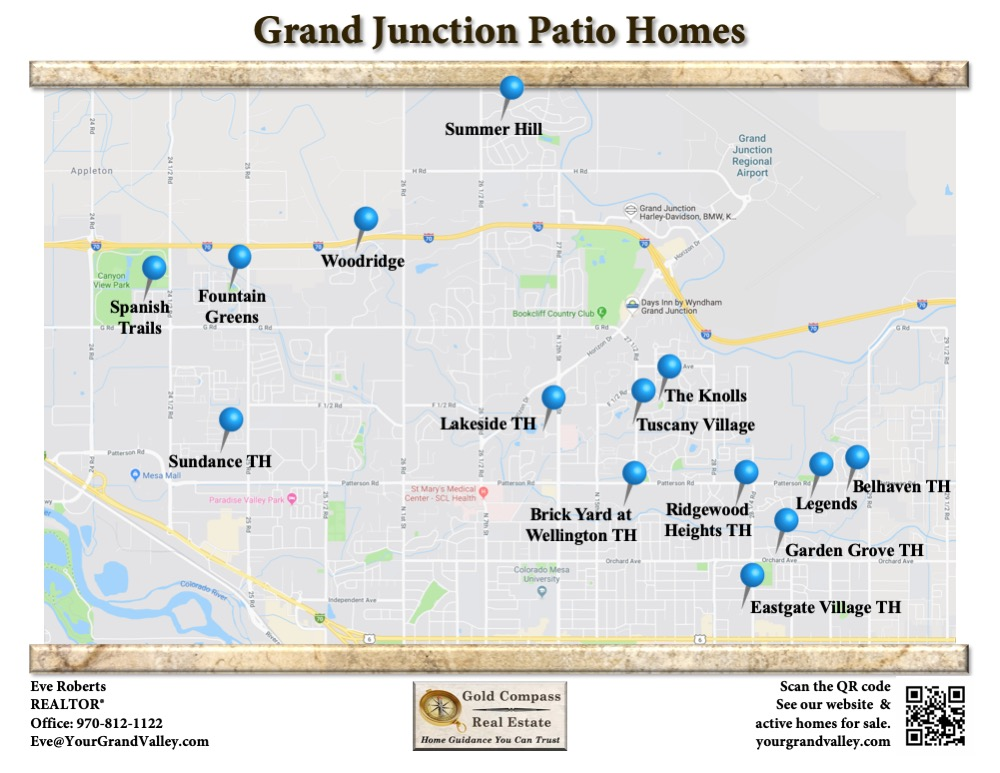 Grand Junction Patio Homes For Sale
