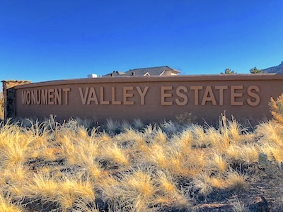 Monument Valley Estates Subdivision