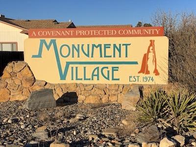 Monument Village Subdivision