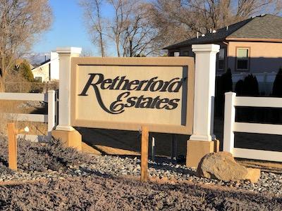 Retherford Estates Subdivision