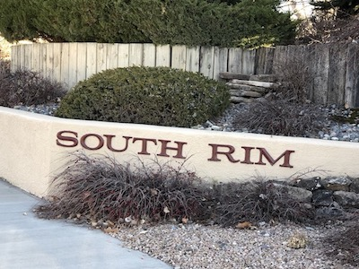 South Rim Subdivision