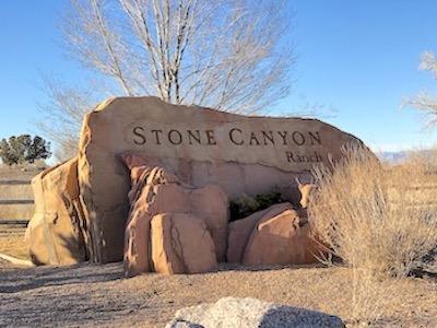 Stone Canyon Ranch Subdivision