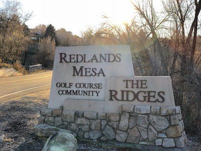 The Ridges Subdivision in Grand Junction